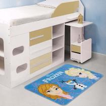 Tapete Infantil Jolitex Frozen Disney 0,70m X 1,10m Oficial -