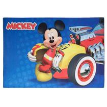 Tapete Infantil Joy Disney Mickey Piloto 70cmx100cm Jolitex -