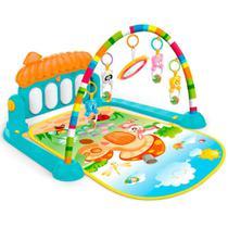 Tapete Infantil Móbile com 5 Brinquedos e Piano Multi Colorido Importway Bwtip001 -