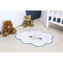 Tapete Infantil para Decoração de Quarto de Bebê Formato Nuvem Bebê com Base Antiderrapante - Guga tapetes