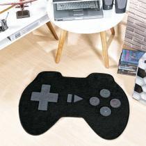 Tapete Infantil para Quarto Controle de Video Game Preto - Guga Tapetes