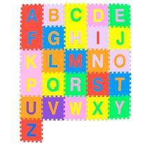 Tapete Infantil Tatame em Eva Alfabeto Colorido 26 Pecas - Vmp -