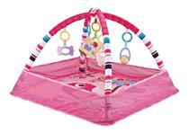 Tapete Interativo Bebê com Bolinhas Park Rosa Color Baby -