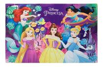 Tapete Joy Disney Encontro Princesas   Jolitex 70 cm x 1,00 m -