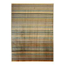Tapete Kilim Vitral Retangular Veludo 198x300 cm Caramelo - Rayza