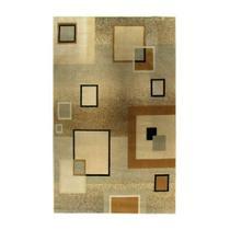 Tapete Marbella Quadrado Preto 198x250 cm Rayza -