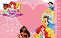 Tapete Mesversario personalizado tema Princesas da Disney - Silk Plac