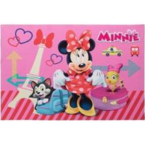 Tapete Minnie Paris Disney Antiderrapante 70x100 cm Jolitex -