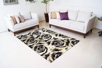 Tapete multiuso Rayza Marbella  0,60m X 1,20m Toque Extra macio des Rosas -