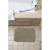 Tapete para banheiro soft com memória verde - Loani