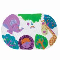 Tapete Para Banho Antiderrapante Unisex para Crianca Buba Baby Multicor Selvinha Infantil. -
