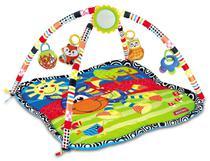Tapete para bebê c/5 brinquedinhos tipo móbile para pendurar - Dmtoys