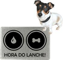 Tapete Para Cachorro Pote Ração Água - Endereço Do Kapacho