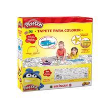 Tapete Para Colorir Com Apagador Bilíngue Play-Doh - Fun -