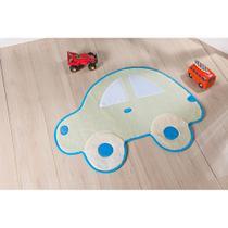 Tapete para Quarto de Criança Formato Fusca Grande 1,16m x 80cm Decorativo com Antiderrapante - Guga Tapetes