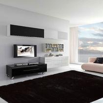Tapete para Sala Premium 100x150cm Preto - CASA DONA