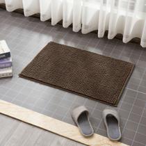 Tapete Para Sala Quarto Banheiro Super Macio - Bolinhas Premium Grande 50x80 Capuccino - Perfitec