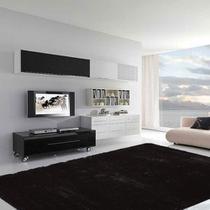 Tapete para Sala Quarto Luxo Liso Peludo Retangular 200x140cm Casen -