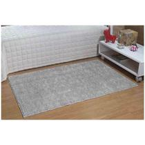 Tapete Passadeira Classic 66 x 120 cm Cinza Oasis - Tapetes Oasis
