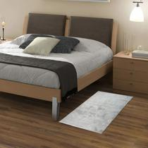 Tapete passadeira quart 0,50x1,00 beira de cama corredor sala 100% antiderrapante apolo pratatextil -