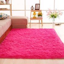 Tapete Peludo 2,00 X 2,40 Rosa Pink Para Sala Quarto Macio Felpudo Fofinho - Costa Oro