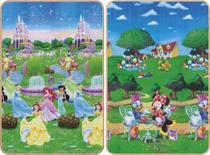Tapete Plástico Infantil Jolitex Recreio Disney Trip Princesa 1,20 m x 1,80 m -