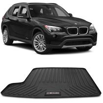 Tapete Porta Malas Bandeja BMW X1 2009 a 2015 Preto em PVC Impermeável 1 Peça Shutt -