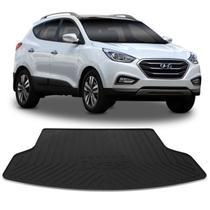 Tapete Porta Malas Bandeja Hyundai IX35 2017 a 2019 Preto 1 Peça em PVC com Bordas de Segurança - Requinte tapetes