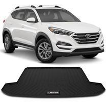 Tapete Porta Malas Bandeja Hyundai New Tucson 2017 a 2020 Preto em PVC Impermeável 1 Peça Shutt -