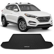 Tapete Porta Malas Bandeja Hyundai New Tucson 2017 e 2018 Preto em PVC Impermeável 1 Peça Shutt -