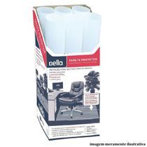 Tapete Protetor Piso Fosco Translucido 100x120cm 1 UN Dello -