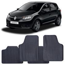 Tapete Renault Sandero 2015 a 2021 Automotivo PVC Antiderrapante Jogo - Reese