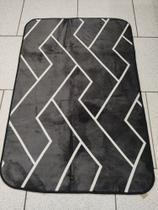 Tapete Sala Quarto Modelo Flannel Super Macio 1.00 x 1.40 - Texfine