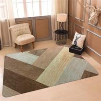 Tapete Sala Wevans Texture Wood - Love Decor