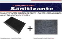 Tapete Sanitizante - Conjunto Tapete Sanitizante  +  Tapete Secante Home Agulhado - Kapazi
