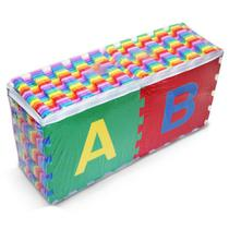 Tapete Tatame Eva 26 Placas 30x30cm ( ABC Completo) 8mm - Millytoys