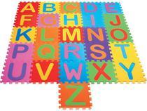 Tapete Tatame infantil em eva Alfabeto 26 peças bebê e criança - Mingone
