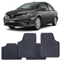 Tapete Toyota Etios 2012 a 2021 Automotivo PVC Antiderrapante Jogo - Reese