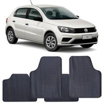 Tapete Volkswagen Gol G8 2020 a 2021 Automotivo PVC Antiderrapante Jogo - Reese