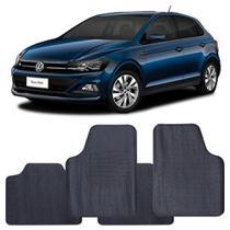 Tapete Volkswagen Polo 2018 a 2021 Automotivo PVC Antiderrapante Jogo - Reese