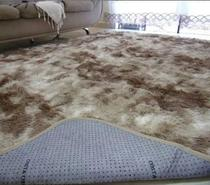 Tapetes de sala felpudos 2,00X2,40 Bege Mesclado luxo, peludo 40mm - Jd Confecções