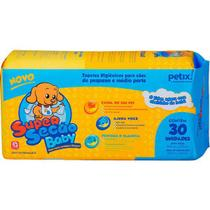 Tapetes Higiênicos Petix Super Secão Baby com 30 unidades -