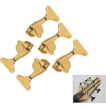 Tarrachas Tarraxas Para Baixo 5 Cordas 3x2 Dourada Blindada - Kd Risingguitar