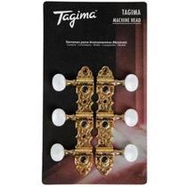 Tarraxa Tagima Blindada Para Violão Nylon Tmh831Gd Dourada - Tagima / Memphis