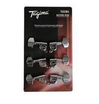 Tarraxa Tagima Tmh 801 Cr Para Guitarra ou Violão 3+3 -