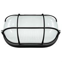 Tartaruga LED Externa com Grade 8W Naútica Blumenau Preto -