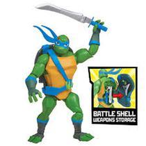 Tartarugas Ninja - Figuras de Ação - Leonardo Porta Armas - Playmates Toys