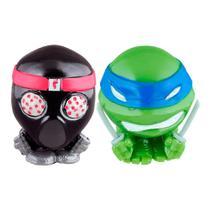 Tartarugas Ninja - Mashems Azul e Preto - DTC -