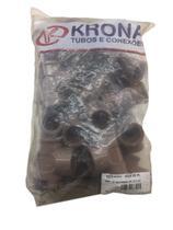Te Soldável Rosca (lr) 25 Mm X 3/4 Conexão Krona - 20 Peças -