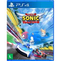 Team Sonic Racing PS4 Com Chaveiro - Sega